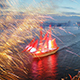 Fireworks On The Feast Of Scarlet Sails - VideoHive Item for Sale