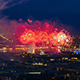 Fireworks Over The City Of St. Petersburg - VideoHive Item for Sale