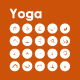 20 Yoga icons - GraphicRiver Item for Sale