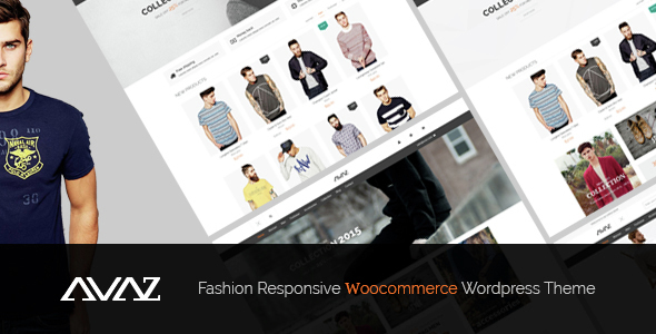 Avaz - Fashion Responsive WooCommerce Wordpress Theme - WooCommerce eCommerce