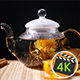 Florescence Of Blooming Tea - VideoHive Item for Sale