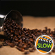 Coffee Beans Falling On Bagging From Cezve - VideoHive Item for Sale