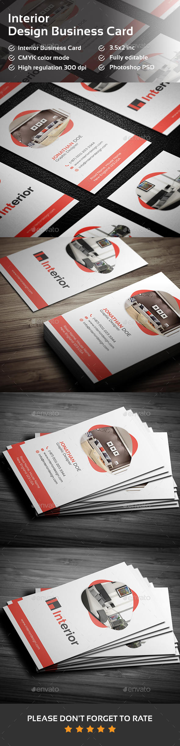 Interior Design Business Card - Creative Business Cards