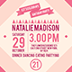 Birthday Party Invitation Template - Vol . 11 - GraphicRiver Item for Sale