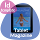 Tablet Vacation Magazine Template - GraphicRiver Item for Sale