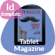 City Magazine Tablet Template