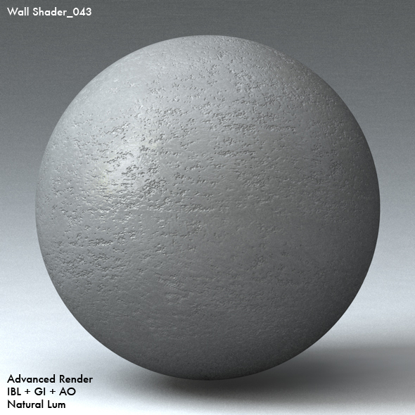 Wall Shader_043 - 3DOcean Item for Sale