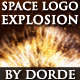 Space Logo Explosion - VideoHive Item for Sale