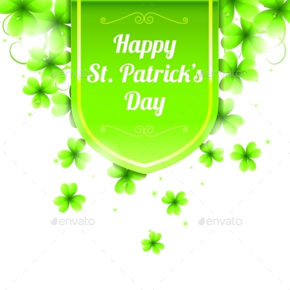 St. Patricks Day Banner - Seasons/Holidays Conceptual