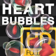 Heart Bubbles - VideoHive Item for Sale