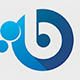 Bubbling - Letter B Logo - GraphicRiver Item for Sale