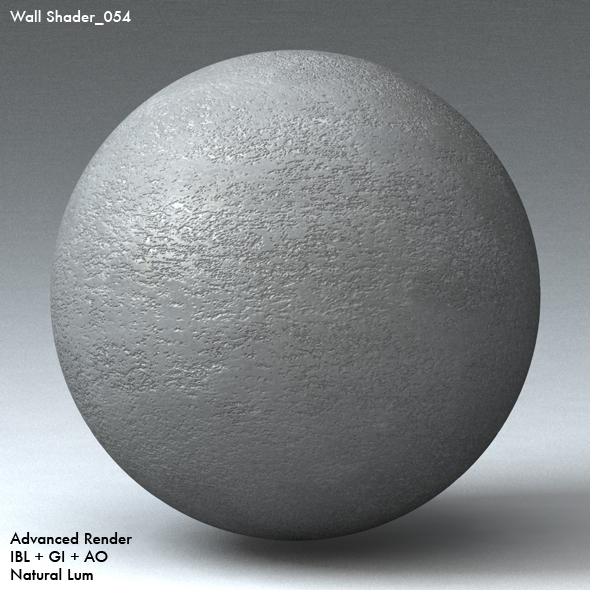 Wall Shader_054 - 3DOcean Item for Sale