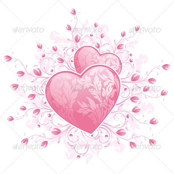 Valentines Day Hearts - Valentines Seasons/Holidays