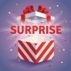 Opened Surprise Gift Box - GraphicRiver Item for Sale