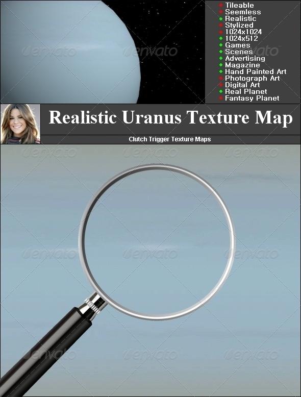 Uranus Texture Map - 3DOcean Item for Sale
