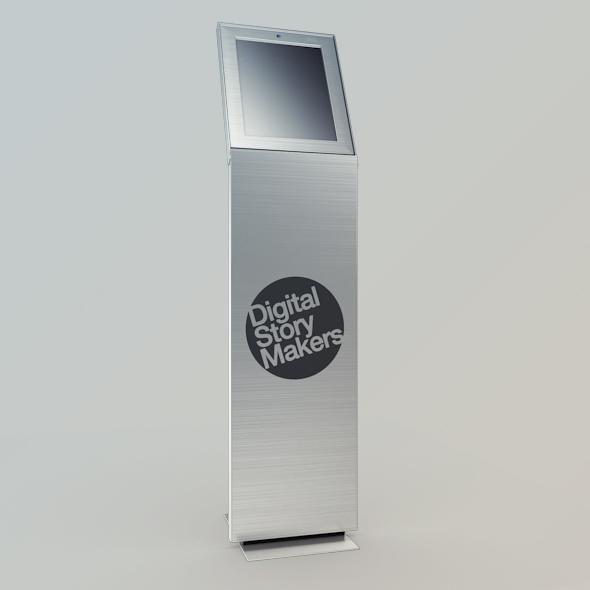 Kiosk Net Point - V1 - 3DOcean Item for Sale