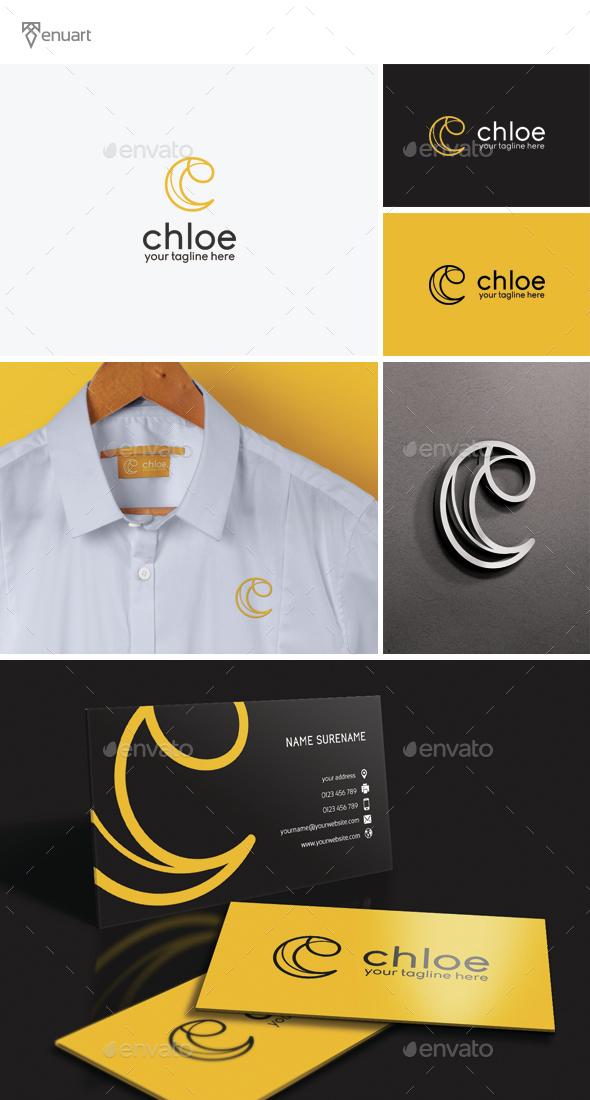 Chloe - Letter C Logo - Letters Logo Templates