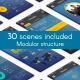 Minimal 3D Mobile App Presentation - VideoHive Item for Sale