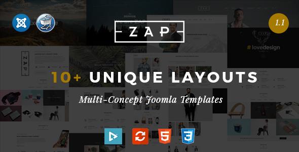 Zap – Multipurpose Responsive Virtuemart Joomla templates