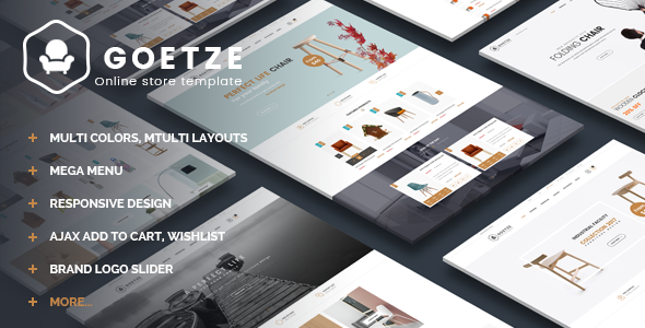 Goetze - eCommerce Bootstrap Template - Shopping Retail