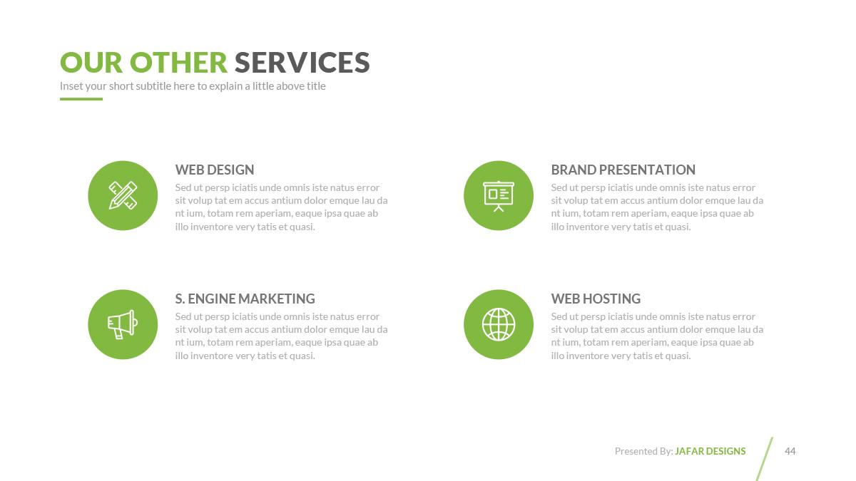 Company profile powerpoint template by jafardesigns graphicriver company profile powerpoint template toneelgroepblik Choice Image