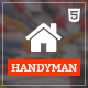 Handyman - Job Board HTML Template Nulled