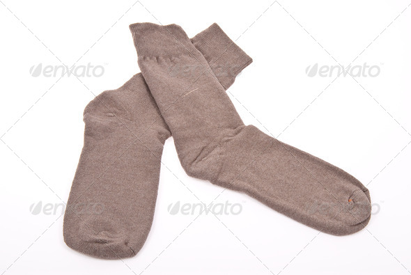 Man's socks - Stock Photo - Images