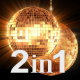 Disco Ball Gold (2-Pack) - VideoHive Item for Sale