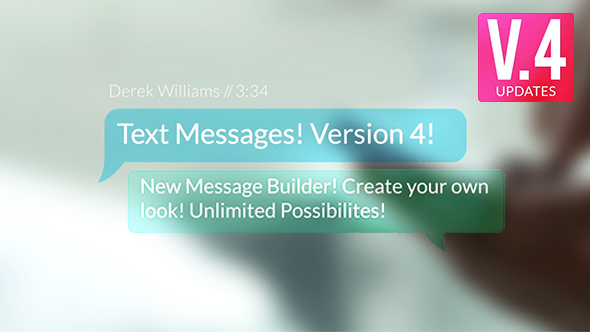 Videohive Text Messages 9450049