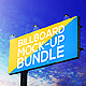 Billboard Mock-Up Bundle - GraphicRiver Item for Sale