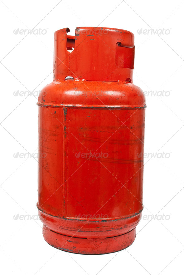 Red gas balloon - Stock Photo - Images