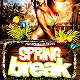 Spring Break PSD Flyer Template - GraphicRiver Item for Sale