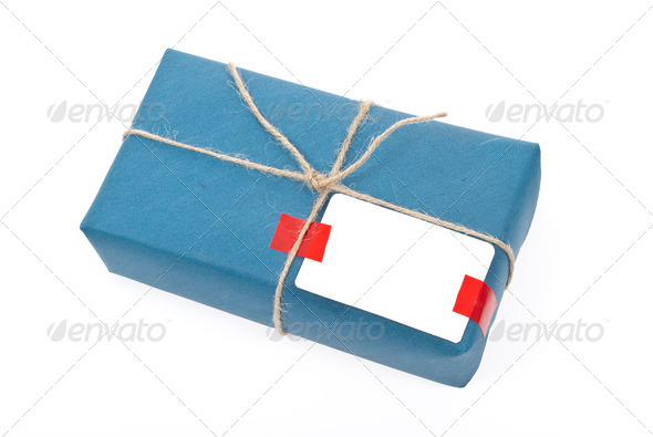 Box post package - Stock Photo - Images