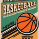 Basketball Tournament Vintage Style - GraphicRiver Item for Sale