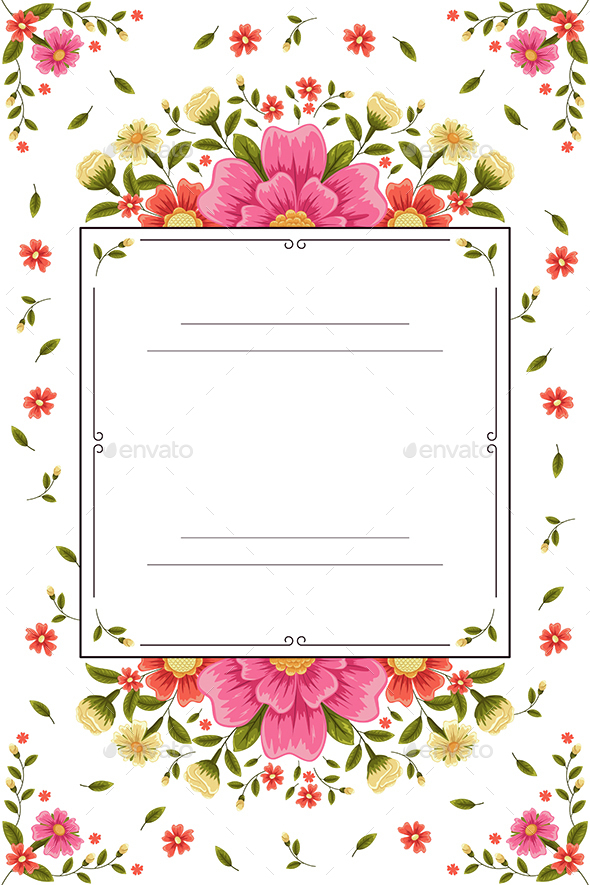 Wedding Invitation - Backgrounds Decorative