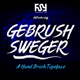 Gebrush Sweger Typeface - GraphicRiver Item for Sale