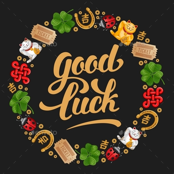 Good Luck - Backgrounds Decorative