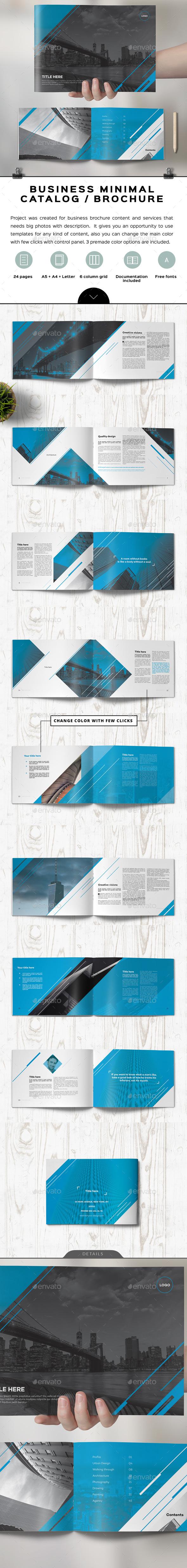 Unicado Business Minimal Brochure - Corporate Brochures
