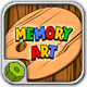 Memory Art (Simon game clone) - HTML5 Game