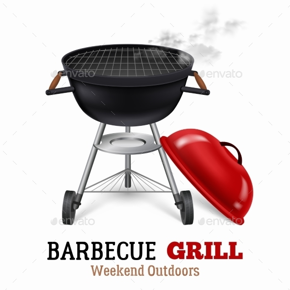 Barbecue Grill Illustration  - Man-made Objects Objects