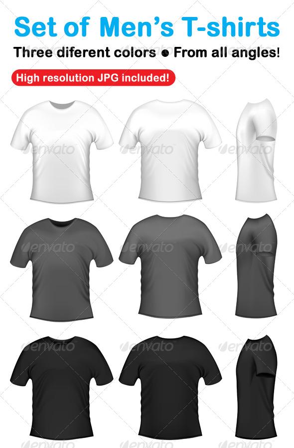 Men's t-shits collection - Miscellaneous Vectors
