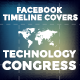 Facebook Timeline Covers - Technology Congress - GraphicRiver Item for Sale