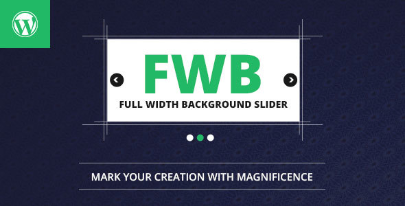 Full Width Background Image Slider  - CodeCanyon Item for Sale