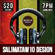 Reggae Session Flyer / Poster - GraphicRiver Item for Sale