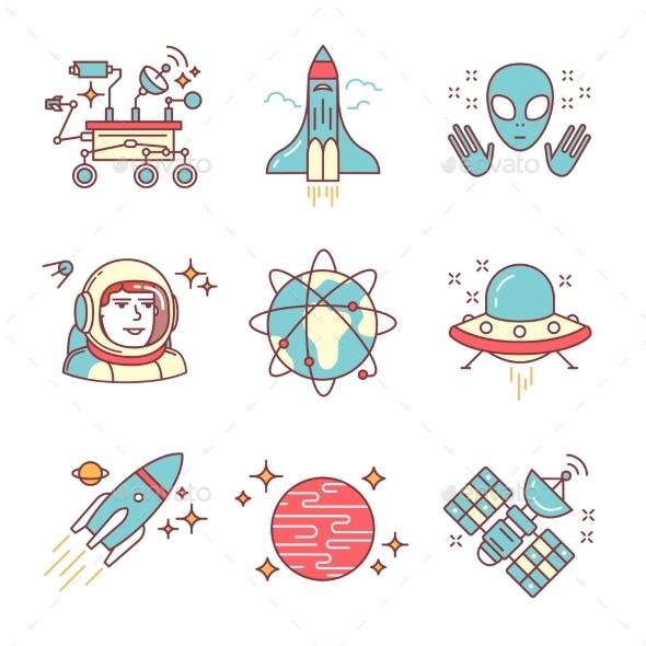 Cosmos Exploration Set - Travel Conceptual