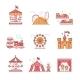 Theme Amusement Park Set - GraphicRiver Item for Sale
