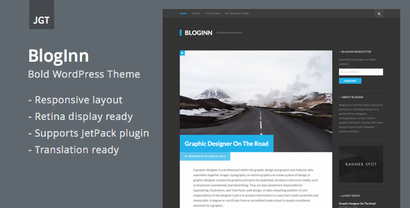 BlogInn – Bold Theme for WordPress