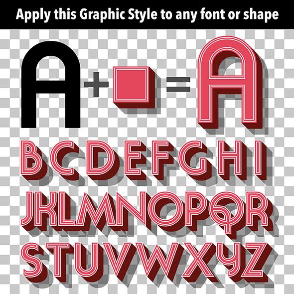 Retro Graphic Style - Styles Illustrator