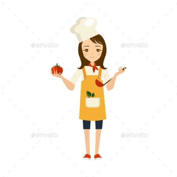 Cook Illustration - People Characters
