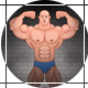 Logo Intro With Cartoon Bodybuilder